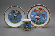 Dětská jídelní souprava Hello Kitty ML