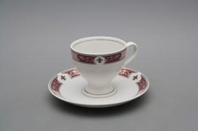 Kávové šapo 0,135l Christine Monaco Purple Platinum