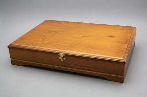 Dřevěná kazeta pro 24dílnou sadu porcelánových příborů