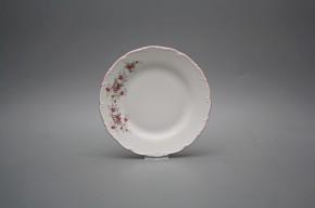 Talíř dezertní 17cm Ofélie Růžičky růžové HRL