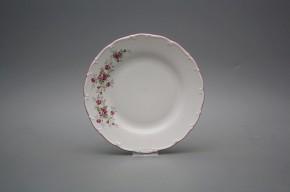 Talíř dezertní 19cm Ofélie Růžičky růžové HRL