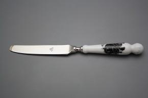 Nůž jídelní Bohemia 1987 Rokokové panenky BB
