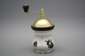 Mlýnek na kávu Aneta Rokokové panenky GL