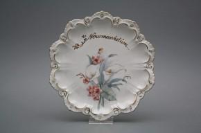 Dárkový závěsný talíř 19cm Vanda Kala Svatební GL