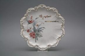 Dárkový závěsný talíř 19cm Vanda Kala GL