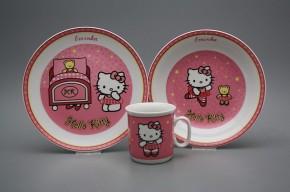 Dětská jídelní souprava Hello Kitty RL