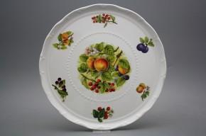 Dortový talíř 30cm Ofélie Ovocný sad FBB