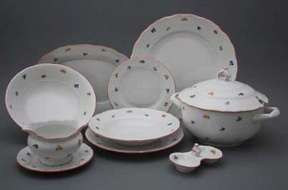 Karlovarský porcelán jídelní soupravy