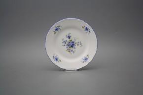 Talíř dezertní 17cm Ofélie Pomněnky GAL Klasik