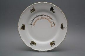 Dárkový talíř mělký 26cm Ofélie Myslivci AGL
