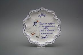 Dárkový závěsný talíř 19cm Vanda Husy ML