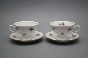 Čajové šapo 0,2l Alaska Růžičky růžové GL