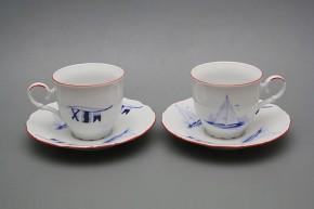 Kávové šapo 0,18l Ofélie Námořnický CL