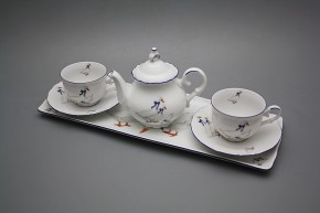 Přátelská čajová souprava s konvičkou Ofélie Husy 6dílná GML