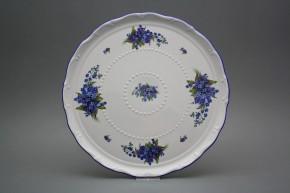 Dortový talíř 30cm Ofélie Pomněnky AL