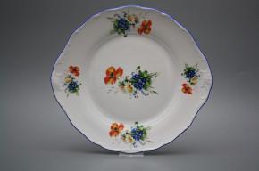 Koláčový talíř 27cm Verona Polní kvítí GAL