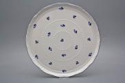 Dortový talíř 30cm Ofélie Luční kvítí házenky BML