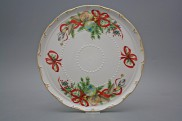 Dortový talíř 30cm Ofélie Vánoční ozdoba EGL