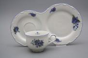Snídaňový set čajový Ofélie Pomněnky AL